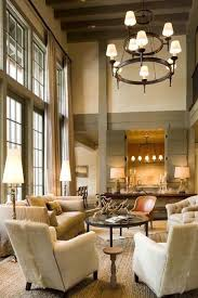 lighting for tall ceilings. mcalpine tankersley aspen house lighting for tall ceilings