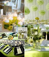 Green Wedding Idea and Decorationss