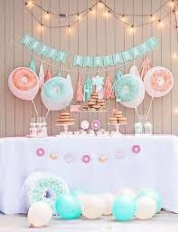 simple birthday celebration baby girl