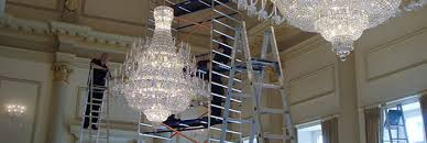 on site chandelier cleaning