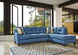 regal house furniture. Brilliant Furniture Regal House Furniture Outlet  New Bedford MA Kirwin Nuvella Blue Right  Facing Corner Chaise Sectional With