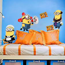 Minion Bedroom Wallpaper Despicable Me 2 Minion Wallpapers 2570cm Removable 3d Wallpaper