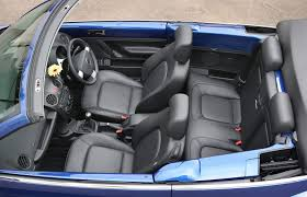 volkswagen beetle cabriolet 2003 2010 features equipment and accessories parkers