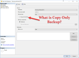 what is copy only backup in sql server interview question of the week