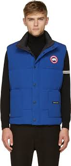 ... Canada Goose Blue Puffer Freestyle Vest ...