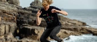 <b>Men's</b> Organic <b>Printed T</b>-<b>shirts</b>   Rapanui Clothing
