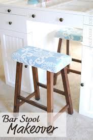 upholstered bar stools. DIY Upholstery Upholstered Bar Stools