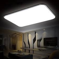 highlight lighting. Gold Edge Thin Rectangular Living Room Lighting Highlighted Study  Bedroom Light Dimming Balcony Walkway 30*30LED Highlight 12W Silver Side