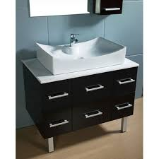 contemporary bathroom vanities 36 inch. Fascinating Modern Bathroom Vanities With Vessel Sin Decoration Intended For Sinks Plans 11 · Akira 36 Inch Contemporary V