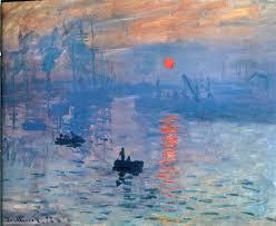 claude monet impression sunrise 1873 oil painting