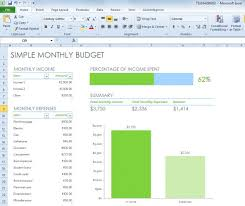 monthly budget spreadsheets simple monthly budget spreadsheet for excel 2013