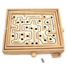 Wooden Maze Games Wooden Labyrinth Gamemaze Toy Buy Maze GameWooden Labyrinth 3