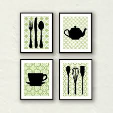 Fine Kitchen Decorations For Walls Art Decor Utensil Modern Wall Throughout Design Decorating