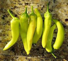 green chili pepper types. Delighful Pepper Hungarian Wax Chili Peppers With Green Pepper Types