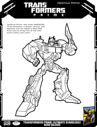 Small Picture Transformers Optimus Prime Printable Coloring Page Printable