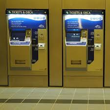 Orca Vending Machine Locations Extraordinary ORCA Ticket Vending Machines At University Of Washington Link Light