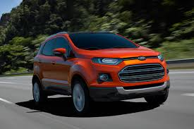new car launches fordFord EcoSport Scores Four Stars in Euro NCAP Crash Assessment