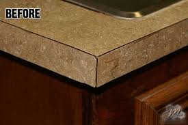 update your countertops with a new color and a bullnose edge miracle method surface refinishing blog