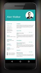 Resume Builder App Simple 28 New Resume Maker App Poureux