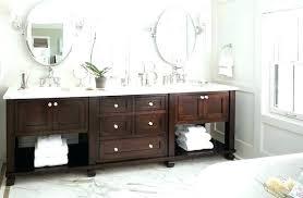 bathroom vanity storage. Bathroom Vanity Shelf Open Wood Storage L