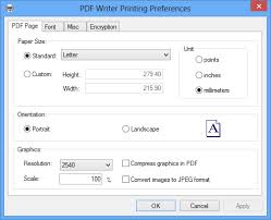 pdf writer for windows preview pdf writer for windows 10 installs itself as a virtual print driver after a successful installation a pdf writer printer will appear in your printers and