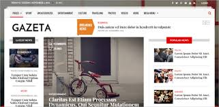 15 News Channel Html5 Website Themes Templates Free