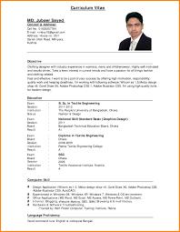Free Curriculum Vitae Resume Template Free Resume Templates