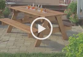 Picnic Table PlansHow To Make Picnic Bench