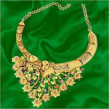 anjali jewellers gold wedding collection. gold bridal necklace in chowrangi road anjali jewellers gold wedding collection i