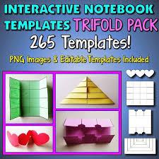Editable Foldable Templates Tangstarscience Foldable Templates Dltemplates