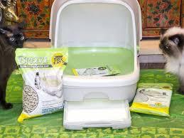 breeze cat box van sifting