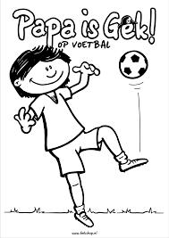 Kleurplaten Verjaardag Voetbal