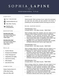 200 Free Executive Resume Templates Word Wwwauto Albuminfo