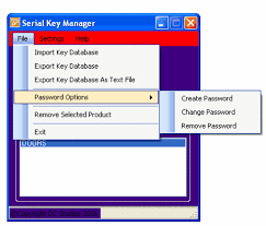 serial key manager