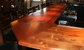 commercial or residential wood bar top photos for wet bar
