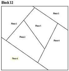 "Crazy Squares Quilt Pattern | Introducing block 20 on the ""I ... & Block 32 quilt Adamdwight.com"