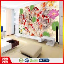 Flower Design Wallpaper 3d Lotus Flower Decoration Murals Wallpaper 3d Wallpaper Fishi Lotus Design Wallpaper Buy 3d Wallpapers Fish Lotus Design Wallpaper Lotus Flower