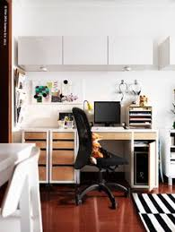 ikea home office design. Hypernuit Offices / Architectes Pretty Office Idea Modern White Home Design Ikea