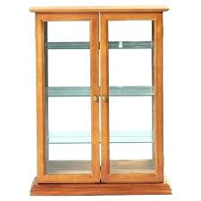 wall mounted curio cabinet small curio cabinet with glass doors wall hanging curio cabinets wall hung