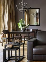 gold curtains living room. inspiration for a contemporary living room remodel with brown walls gold curtains