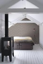 Bolcom Estahome Behang Zigzag Motief Zwart En Wit 135420