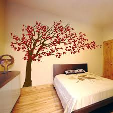 japanese cherry blossom wall decal with cherry blossom tree blowing in the wind wall decal sticker graphic living room japanese cherry blossom wall stickers