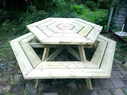 round picnic table plans picnic table with umbrella hole picnic table umbrella hole ring size wood