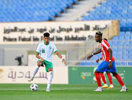 المنتخب السعودي الأولمبي وليبيريا.. 4 أساسيين مقابل 9 محترفين في الخارج