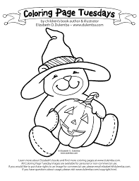 Small Picture dulemba Coloring Page Tuesdays Halloween Bear