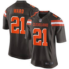 Men's Brown Jersey Game Browns Ward Nike Cleveland Denzel adddacbbdbc|NFL Preview 2019: How 49ers' Protection Stacks Up Against NFC West Rivals