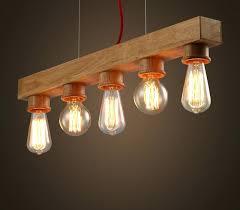 new simple light bulb chandelier vintage edison diy