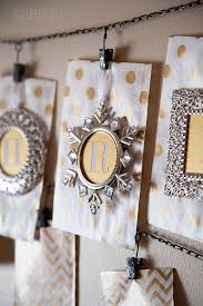 view in gallery ornament frames used to create a holiday banner