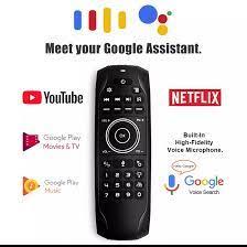Keyboard Mini Backlit G7V, Giroskop Belajar IR 2.4G Remote Nirkabel G7V Pro  Air Mouse untuk Android TV BOX VS MX3