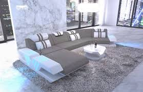 Fabric Sectional Sofa Beverly Hills C Shape